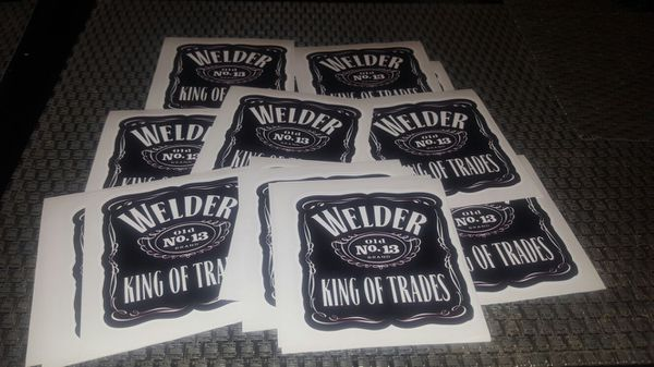 Welder Jack Daniels Stickers Tools Amp Machinery In City