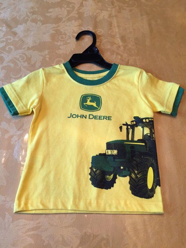 John deere boys t shirt baby kids in lombard il offerup for John deere shirts for kids
