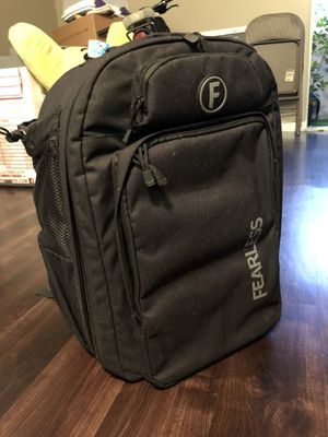 Black Fearless Drone Case Backpack