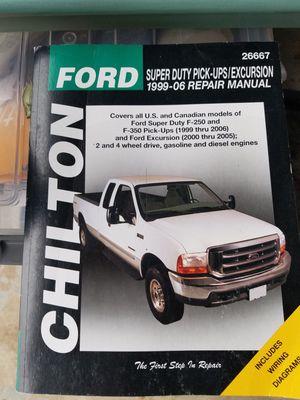 Chilton Guide for 99-06 Ford Super Dutys.