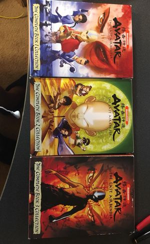 Avatar: The Last Airbender - The Complete Books 1, 2 & 3 Collection DVD set