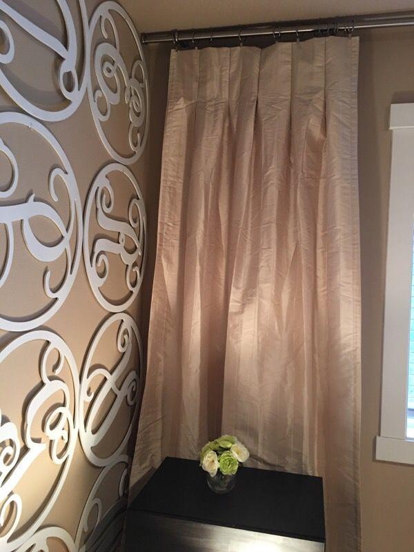Light Cream Curtain Pair Household In Lynnwood Wa