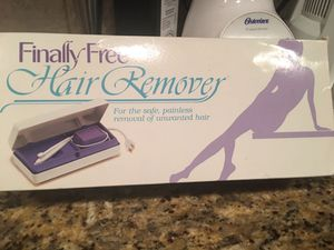 Electric hair removal