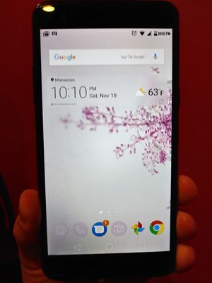 LG X power BOOST MOBILE smartphone