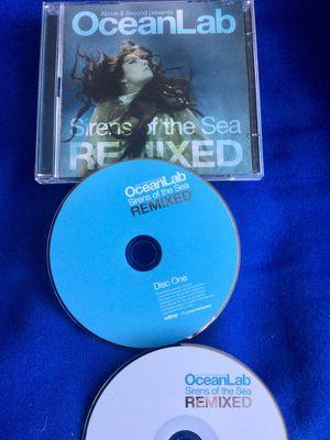 Ocean Lab 🎧🎶 2 Music CD 's / Club remix version
