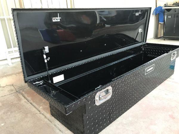 Husky 70 Inch Topsider Black Low Profile Truck Tool Box