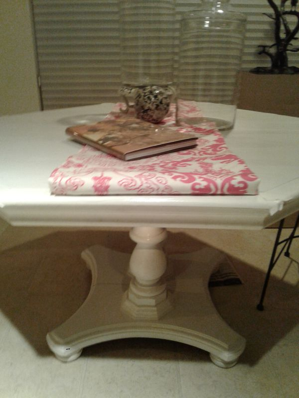 White Dining Table Home Garden In Visalia CA