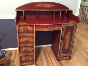 Vintage desk. One of a kind- PRICE REDUCTIOn