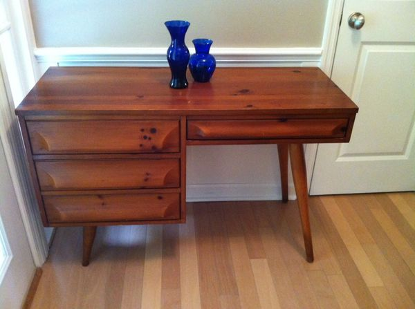 Mid century franklin shockey desk furniture in for Mid century furniture florida