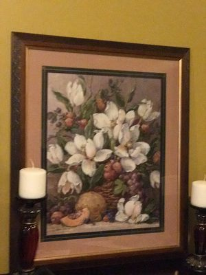 $30 24x28 Barbara Mock Professionally Matted and Framed Art
