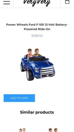 Ford F-150 power wheel
