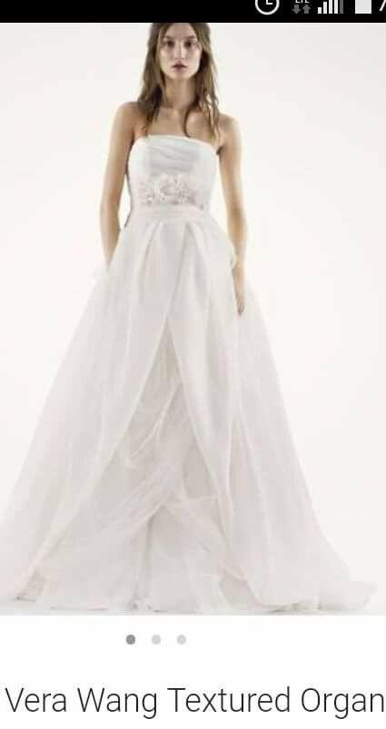 Wedding dress vera wang original clothing shoes in milpitas wedding dress vera wang original junglespirit Gallery