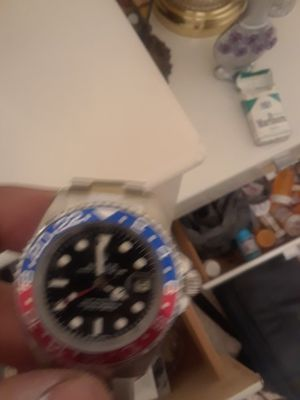 Rolex G M T master watch new runs but needs a cleaning steal price