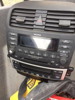 2004 2005 2006 2007 2008 Acura TSX radio