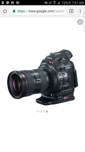 C100 mark I Camera