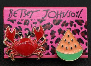 Betsey Johnson Pins