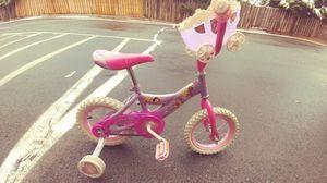 Girls Disney Youth Training Bike
