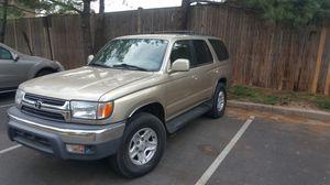 2001 TOYOTA 4RUNNER SR5 4X4 AUTO HWY MILES 265432 New VA INSPECTION