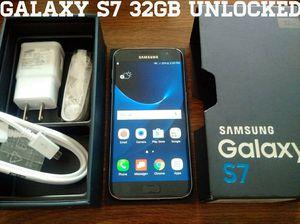 Galaxy S7 32GB UNLOCKED (Like New) Black Onyx
