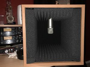 Mini Isolation booth