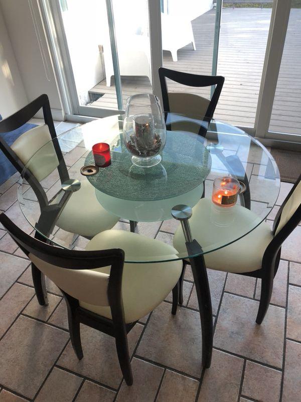Glass Dining Table Furniture In Miami FL