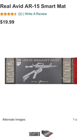 Real Avid AR15 Cleaning Mat