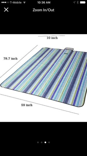 Brand new waterproof mat for hiking and camping