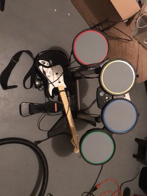 Rockband Set!!! XBox