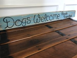 Personalized Reclaimed Pallet Sign Home Decor