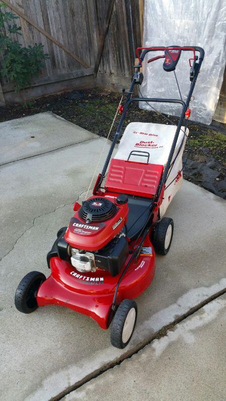 Honda Craftsman Lawn mower 5 5 hp Manual