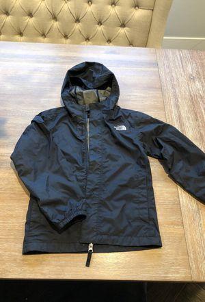 North Face boys hooded rain jacket