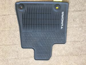 2014 Toyota Tundra OEM All weather rubber mats