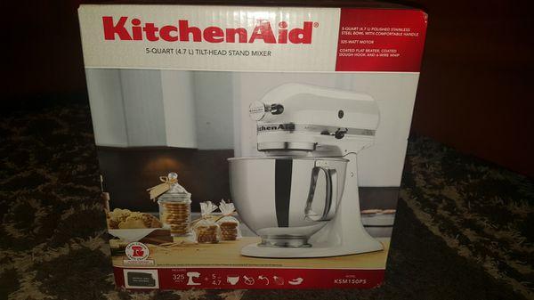 KitchenAid 5 quart mixer. 325 watt (Appliances) in Dallas, TX on kitchenette mixer, black mixer, delonghi mixer, tea mixer, banbury mixer, breville mixer, 4hp kemper mixer, wooden mixer, keurig mixer, wonder woman mixer, wolfgang puck mixer, magic chef mixer, moulinex masterchef mixer, berkel mixer, ge mixer, maytag mixer, krups mixer, logitech mixer, koflo mixer, hamilton beach mixer,