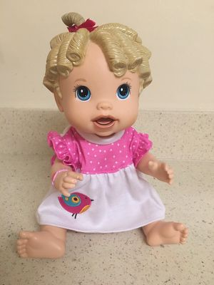 Baby Alive talks doll