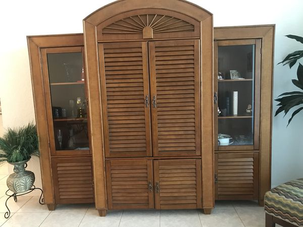 Tommy Bahama Wall Unit (Furniture) in Boca Raton, FL - OfferUp