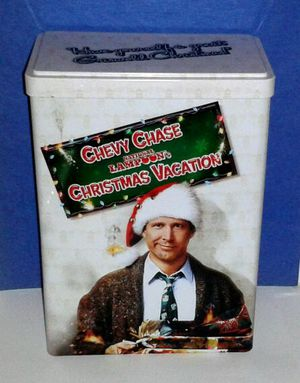 Chevy Chase CHRISTMAS VACATION Collectible Tin