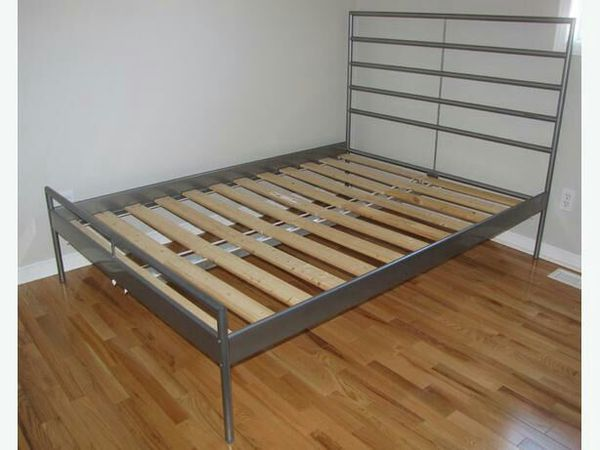full size ikea heimdal bed frame in good condition - Ikea Full Bed Frame