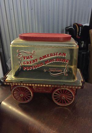Vintage Sunbeam Popcorn maker-works!!