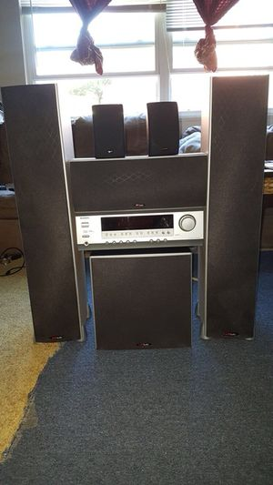 Home theater polkaudio 5 channel