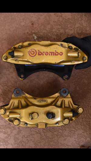 02-07 wrx sti brembo brakes and front rotors