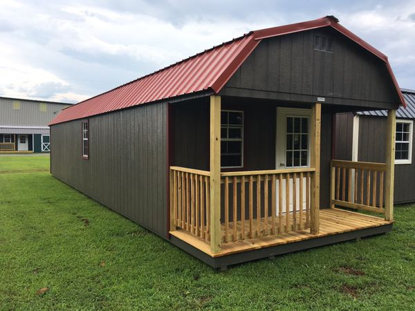 12X42 Jackson Storage Shed/Mini Home (Home & Garden) In Mount