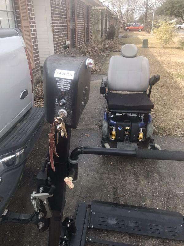 Harmar electric wheel chair lift works great 75% off the cost of a ...
