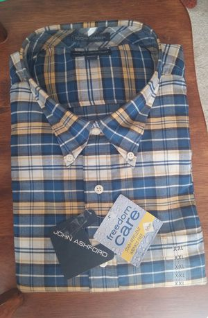 John Ashford Long Sleeve Oxford Shirt/XXL