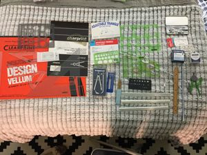Drafting Supplies 4 Interior Design/Architectural/Engineering Students