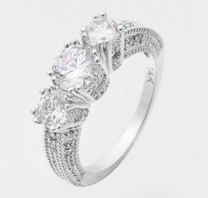 Natural 2.6ct 14k diamond ring size 6