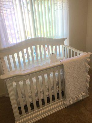 4in1 crib + bedding