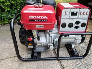 Generador honda 5,000 Like new