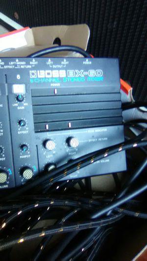 Boss X-30 Mixer