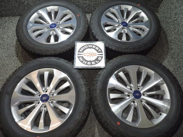 Ford Parts Wheels : Ford f lariat polished oem aluminum
