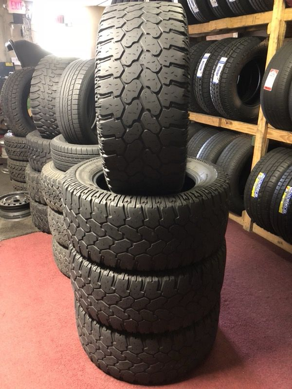 4) 33x13.50 R20 Used (Auto Parts) in Houston, TX - OfferUp